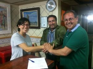 Firma Contrat Palacio i Serra 2