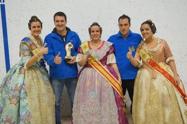 La Falla Institut - Campions VIII Campionat de Pilota Valenciana 1ª Categoria
